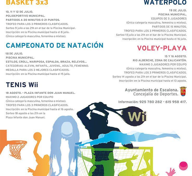 Deportes Verano 2015
