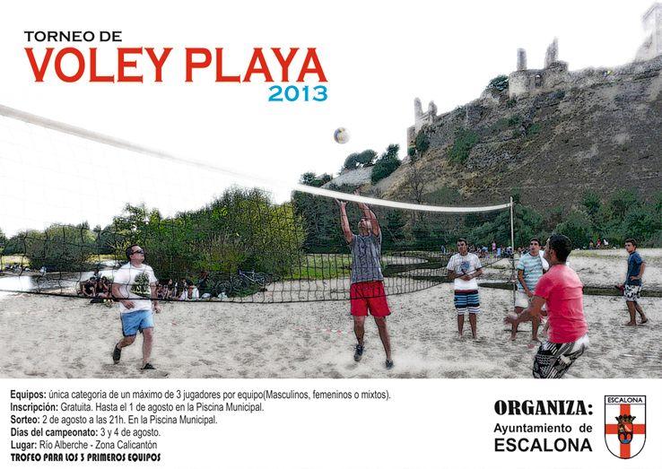 Torneo de Voley Playa 2013