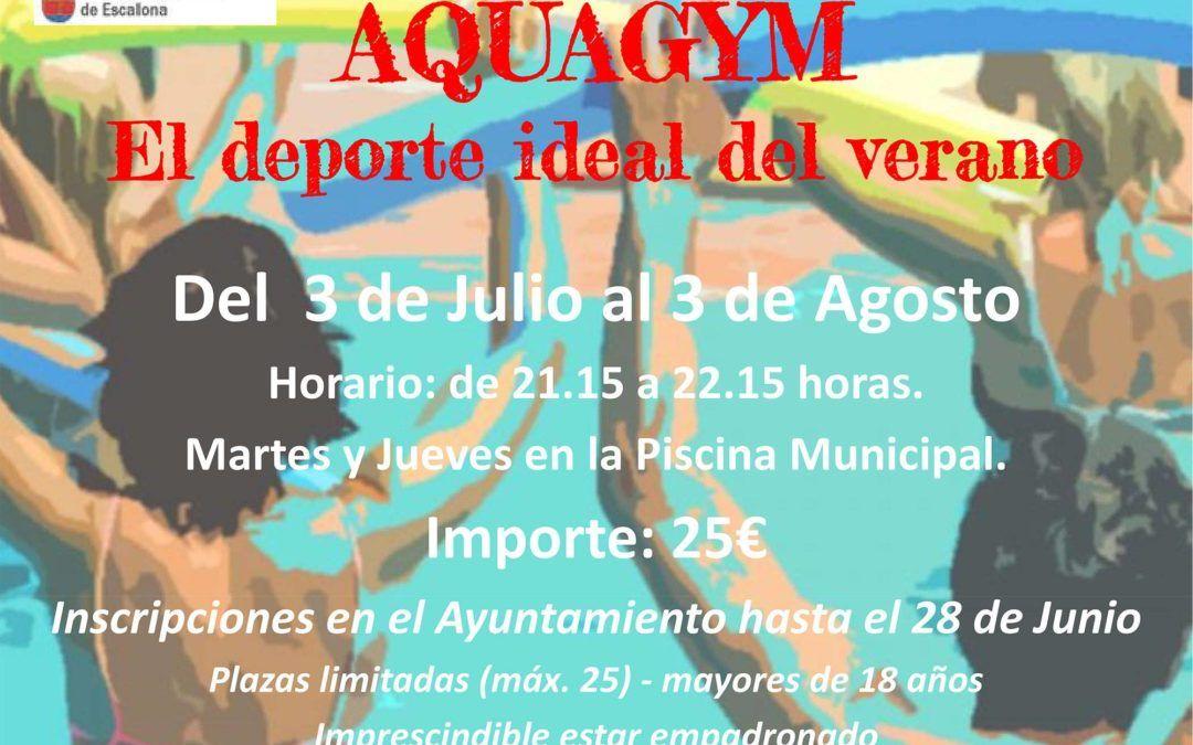 AQUAGYM, el deporte ideal del verano