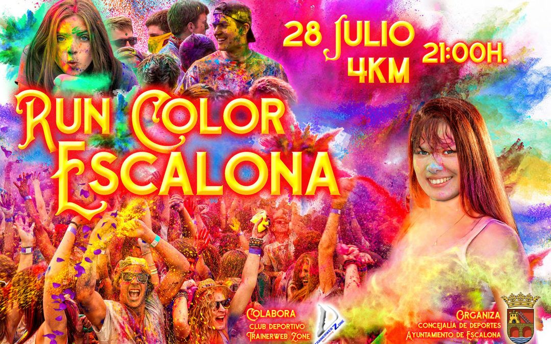 Run Color Escalona, la carrera Holi 4k de colores