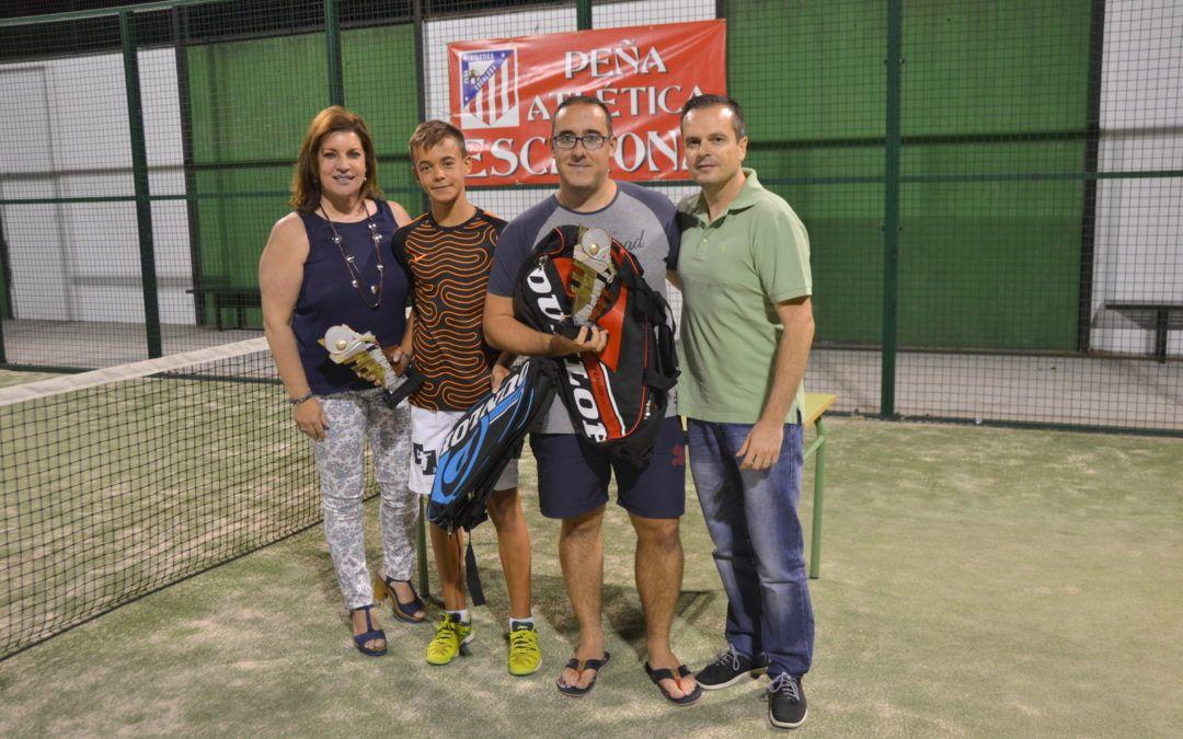 Roberto Aguilar y Jorge Sorell, campeones del Torneo de Pádel