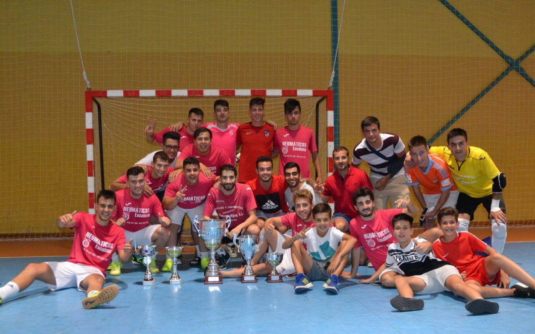 Churitos, F.S. se proclama campeón del III Maratón de Fútbol Sala de Escalona