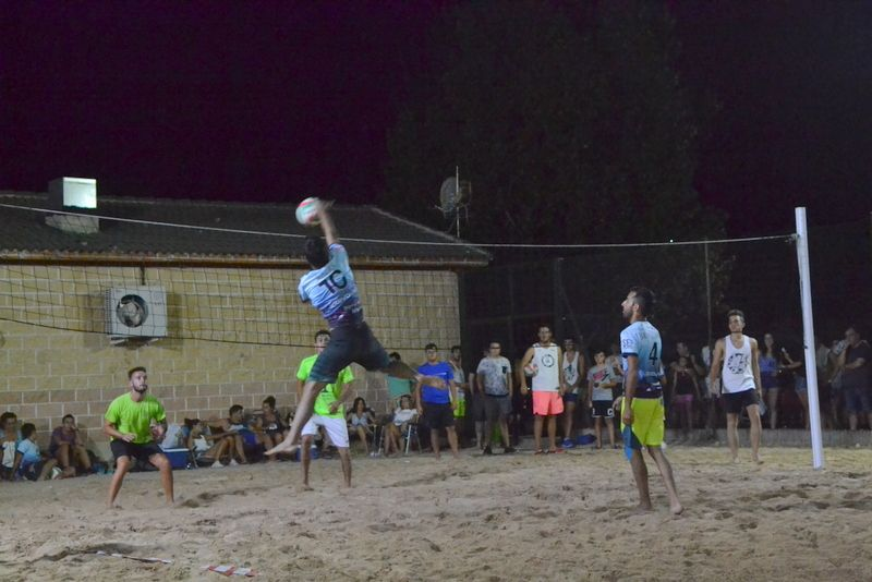José y Jorge campeones del Torneo de Voley Playa de 2018
