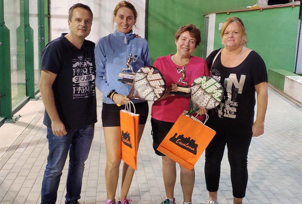 Lourdes y Maribel, campeonas del III Torneo de Pádel Femenino de Escalona