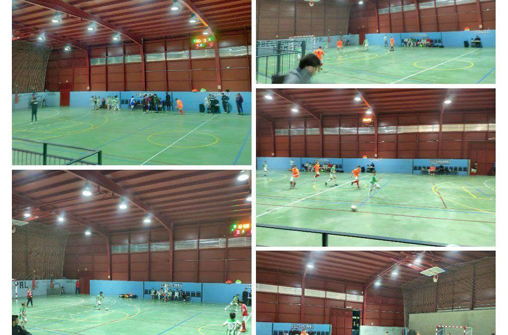 Nuestra Escuela Municipal de Fútbol Sala participó con grandes resultados en el I Torneo de Navidad de Nombela