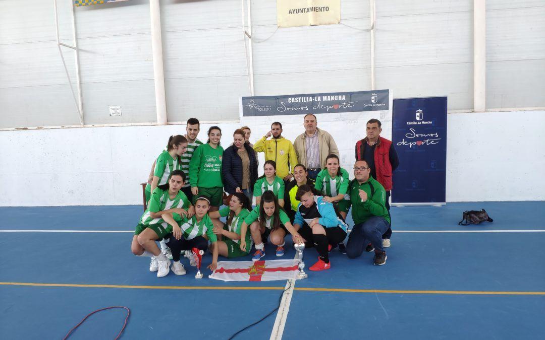El Equipo Femenino de Fútbol Sala, Consigue el DOBLETE
