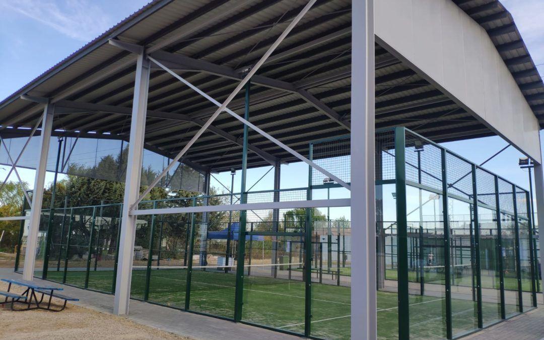Apertura de las pistas de pádel, tenis y frontenis