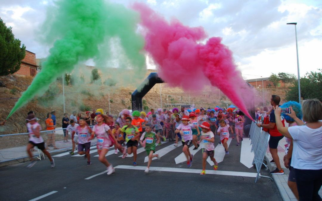 Diversión y Color en la Escalona Run Color 2019