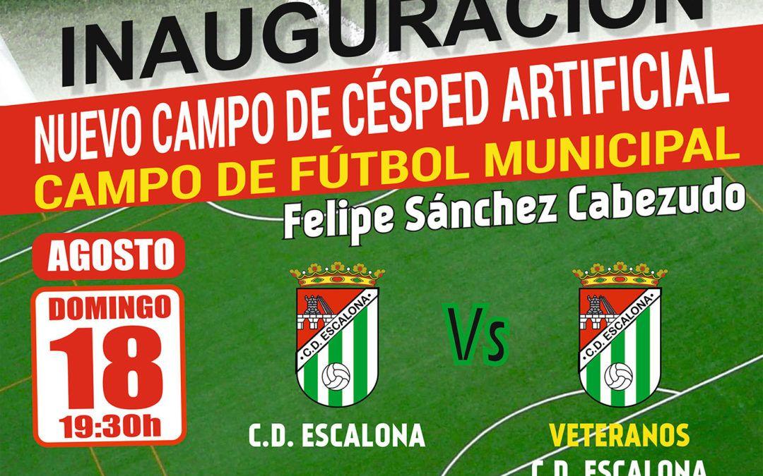 Inauguración del Nuevo Campo de Fútbol de Césped Artificial con la celebración del tradicional Trofeo San Roque