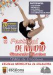 II Festival de Navidad de Gimnasia Rítmica -Concejalía de Deportes del Ayuntamiento de Escalona