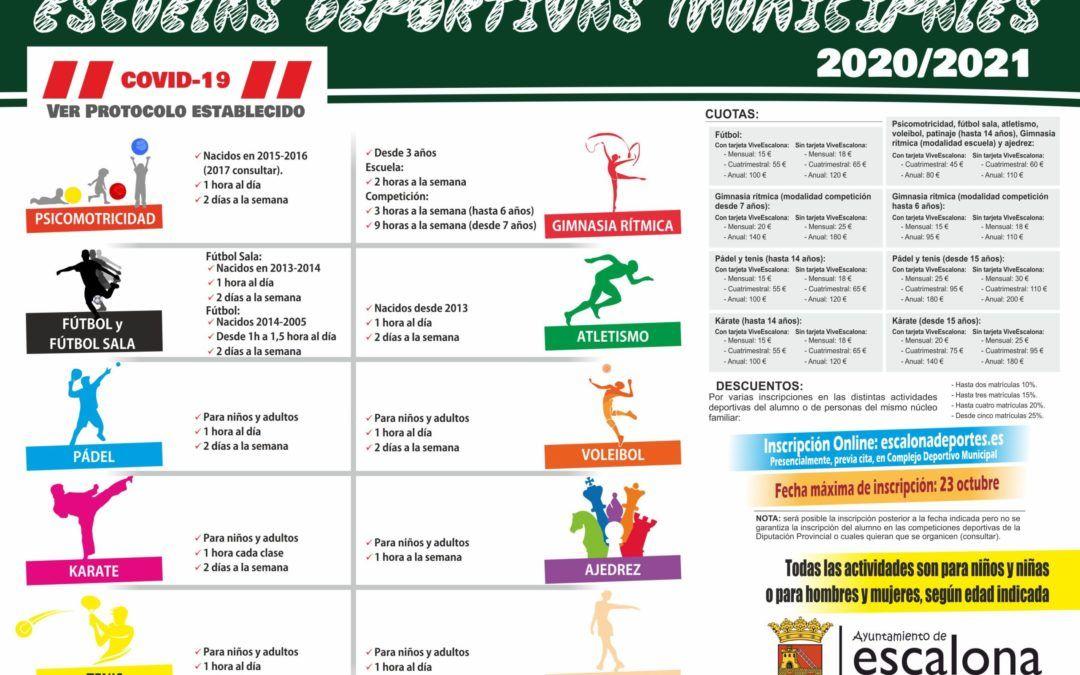 Escuelas Deportivas 2020-2021