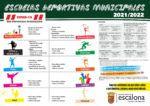 Escuelas Deportivas Municipales 2021 - 2022 - Concejalía de Deportes del Ayuntamiento de Escalona